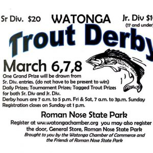 Trout Derby Registration