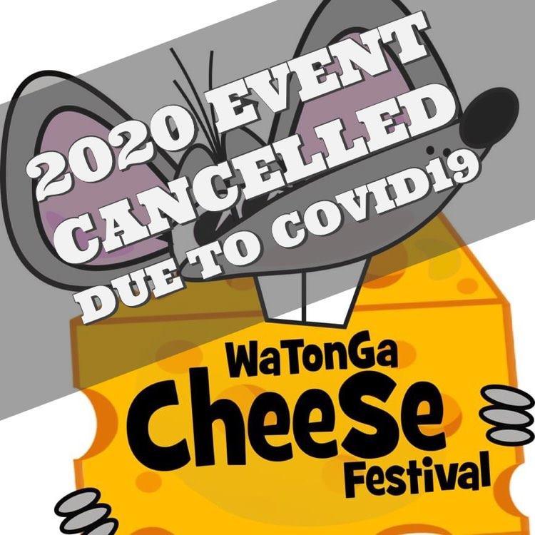 2020 Watonga Cheese Festival Cancelled