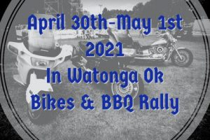 Bikes & BBQ Rally in Watonga NEW FESTIVAL Coming Spring 2021