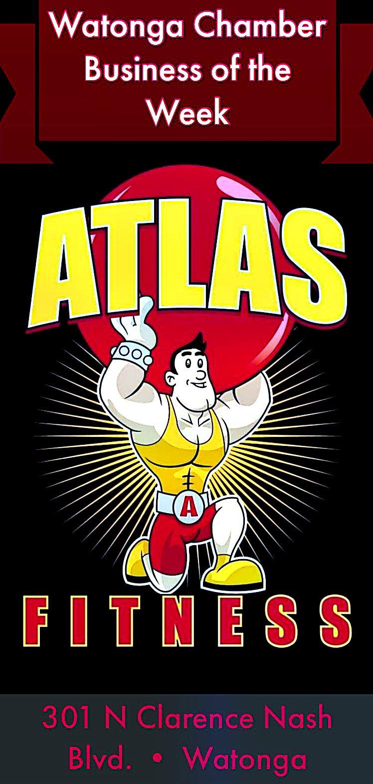 Read more about the article Watonga Chamber's Business of the Week: Atlas Fitness