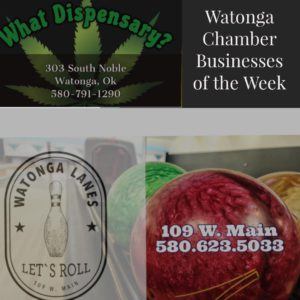 Watonga Chamber Businesses of the Week