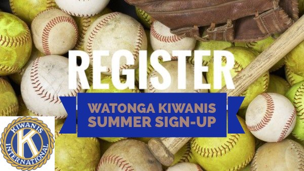 2021 Kiwanis Summer Baseball/Softball Sign-ups