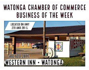Watonga Chamber Business of the Week- Western Inn