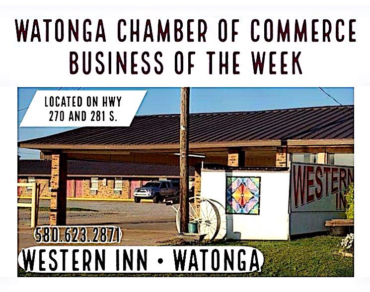 Watonga Chamber Business of the Week- Western Inn