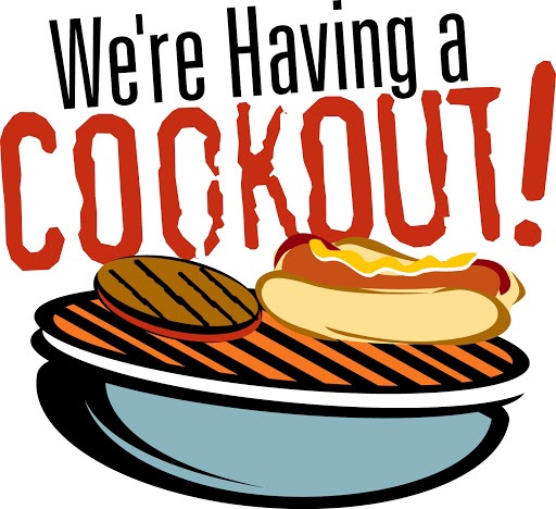 FREE Community Cook-Out  Hotdogs, Hamburgers, Chips & Drink