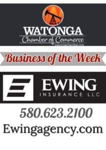 Watonga Chamber Business of the Week Ewing Insurance