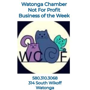 Watonga Chamber's Non-Profit Biz of the Week~Watonga Community Cat Foundation