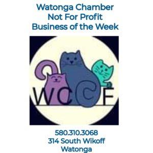 Read more about the article Watonga Chamber's Non-Profit Biz of the Week~Watonga Community Cat Foundation