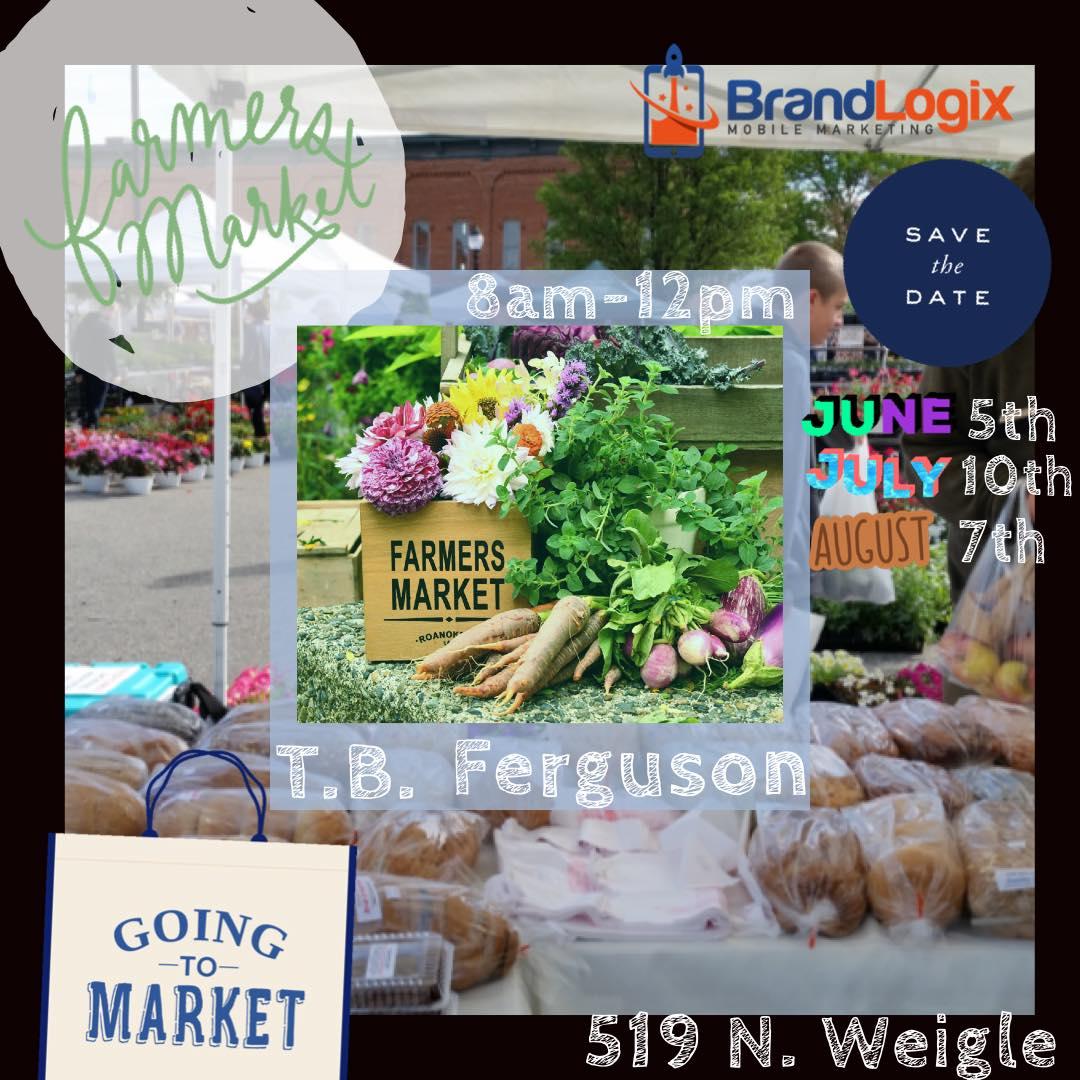 Farmer Market Days Beginning in June – Ferguson Market