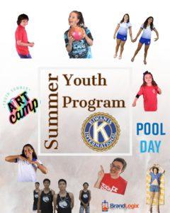 Kiwanis Summer Youth Program 2021 Sign Up Form