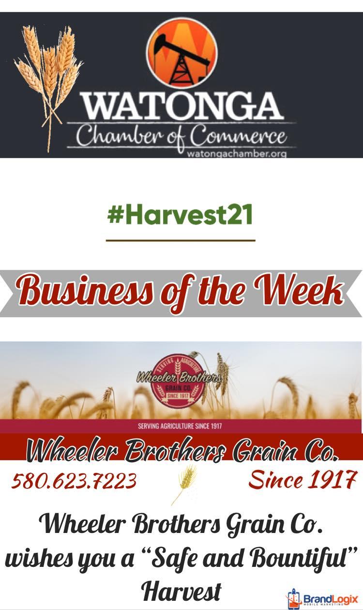 Wheeler Brothers Grain Watonga Chamber Biz of the Week