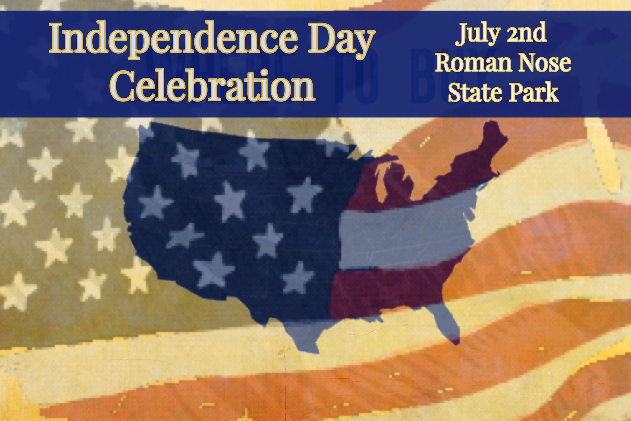 Read more about the article JULY 2nd FIREWORKS Celebration at Roman Nose Park
