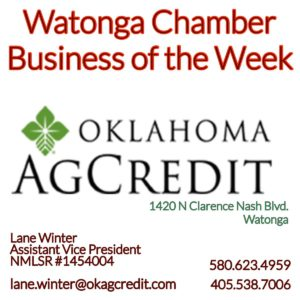 Read more about the article Watonga Chamber Business of the Week